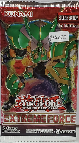 YuGiOh Booster Extreme Force