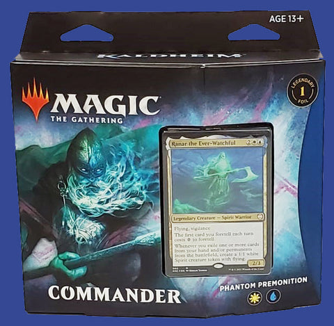 Magic Phantom Premonition Kaldheim Commander