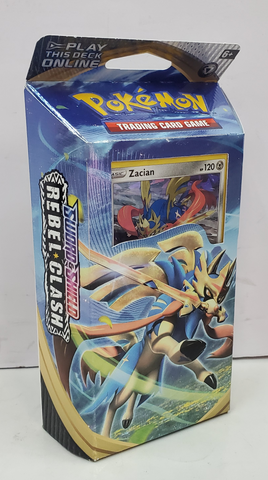 Pokemon Sword & Shield Rebel Clash Zacian