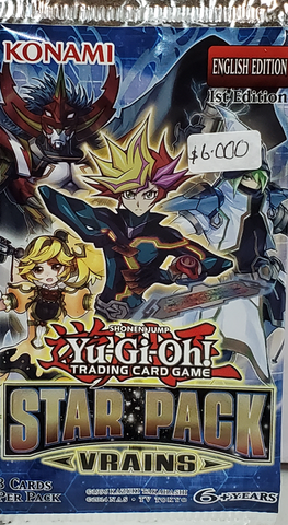 YuGiOh Booster Star Pack Vrains