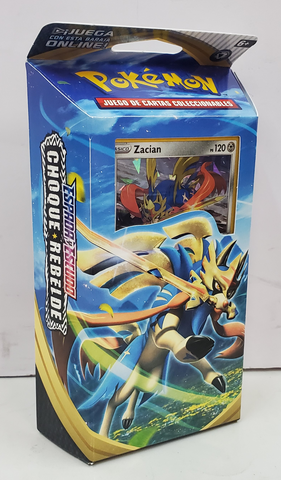 Pokemon Sword & Shield Choque Rebelde Zacian Baraja