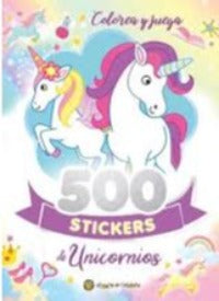 500 Stickers de Unicornios