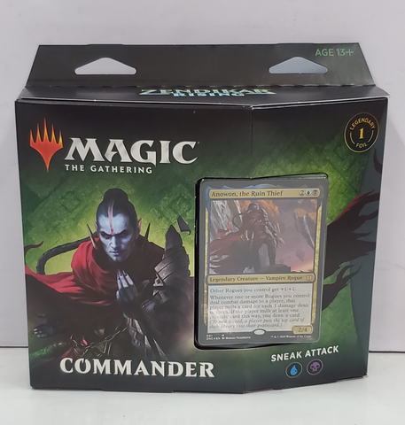 Magic Commander Zendikar Rising Sneak Attack
