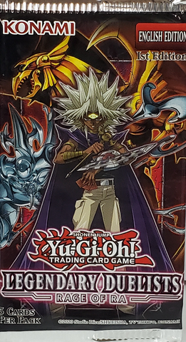 YuGiOh Legendary Duelist Rage of Ra Booster