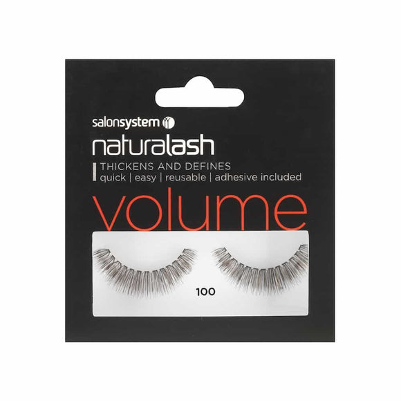 NATURALASH BLACK 100 VOLUME STRIP LASHES