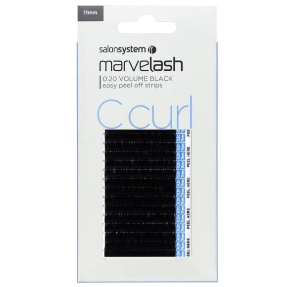 MARVELASH C CURL 0.20 VOLUME, 11MM (SUPER SOFT LASH)