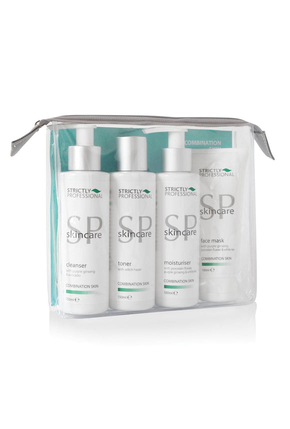 strictly professional facial care kit for normal to combination skin