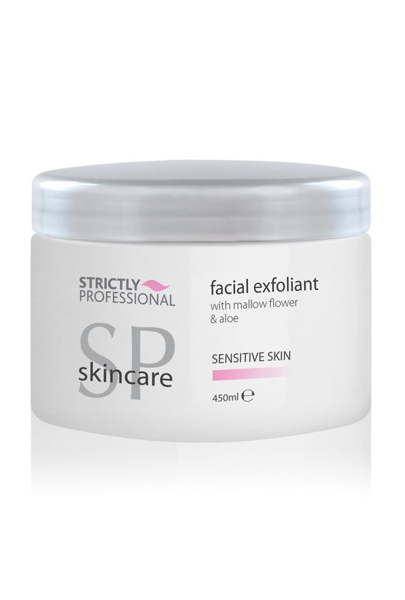 strictly professional facial exfoliant 450ml for sensitive skin