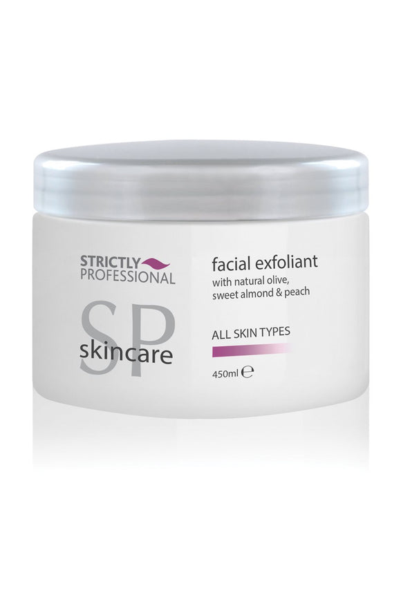 strictly professional facial exfoliant 450ml for all skin types