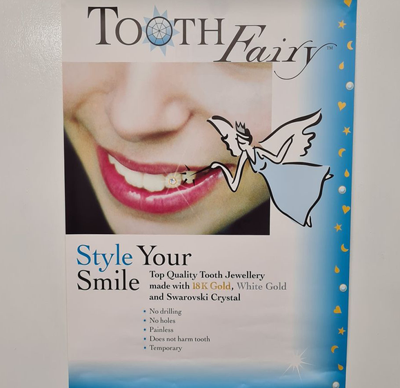 Tooth Fairy Poster - Jewellery