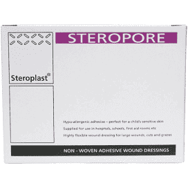 STEROPLAST NON-WOVEN ADHESIVE WOUND DRESSING