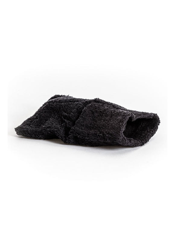 TOWELLING MITT (BLACK)