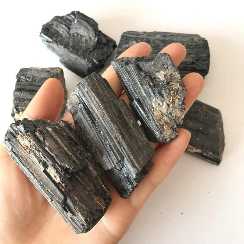 100g/pack Natural Black Tourmaline