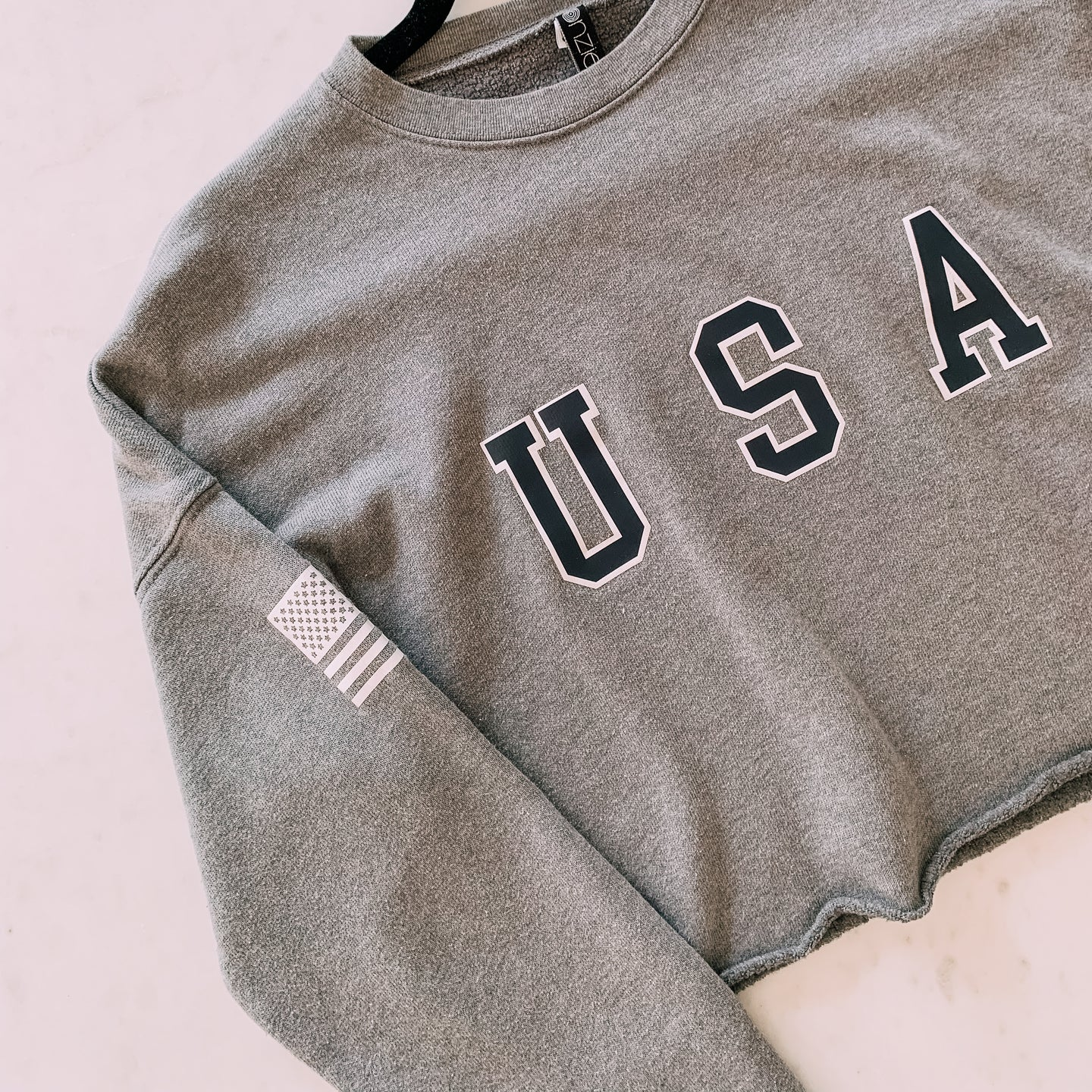 Just An American Cropped Sweater