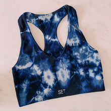 Load image into Gallery viewer, Now In Color Tie Dye Sports Bra