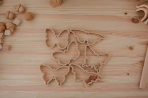Butterfly Eco Dough Cutters (Set of 3)