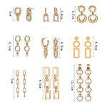 Reinosa Earrings Gold