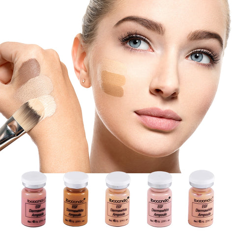 12pcs Semi-permanent BB Cream Whitening Serum Brighten CC Cream Foundation Beauty Salon Cosmetic Makeup Liquid Foundation