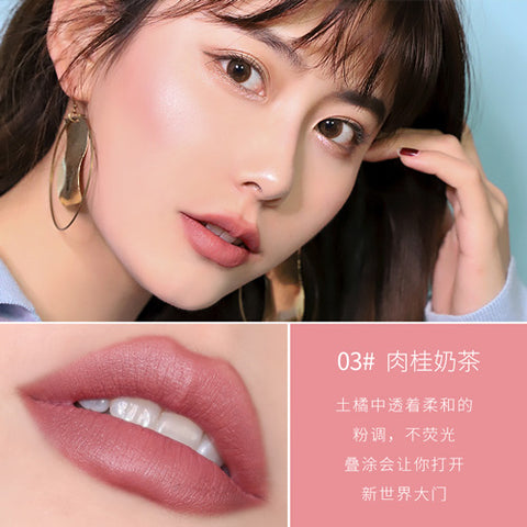 Xixi Diamond Star Shiny Lipstick Red Velvet Matte 8 colors Waterproof Long Lasting Nude Makeup Sexy color Cosmetics