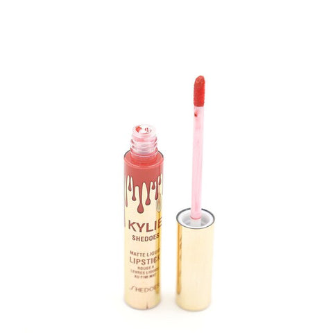 Matte Liquid Lipstick Makeup 1 Pics Waterproof Lipstick Matte Lip Stick Long Lasting 8g