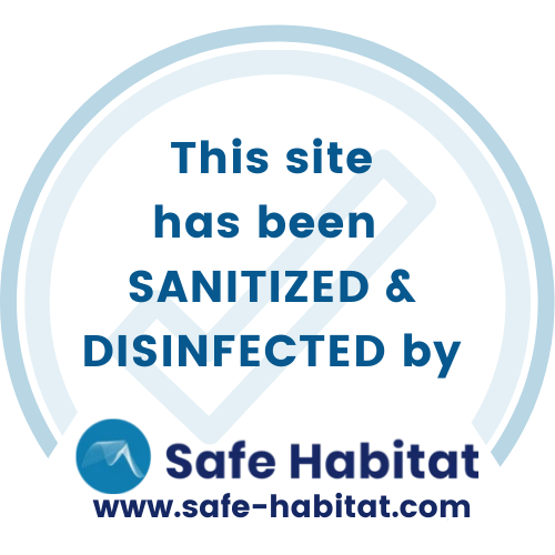 Safe Habitat Disinfection Certificate