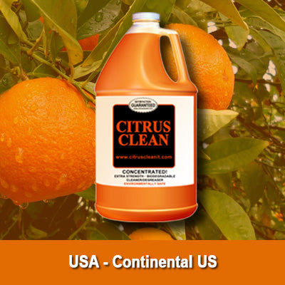USA Citrus Clean It® - 5 Case Special!