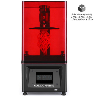 ELEGOO Mars Pro 3D Printer Support Files