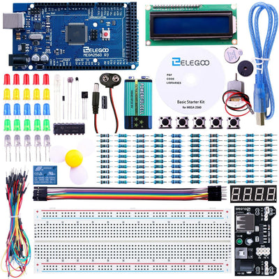 ELEGOO Mega 2560 Basic Starter Kit Tutorial