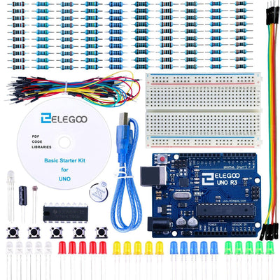 ELEGOO UNO Project Basic Starter Kit Tutorial