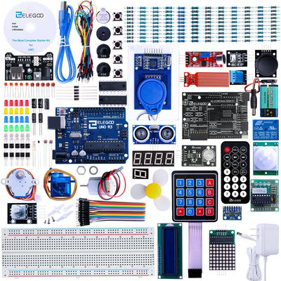 ELEGOO UNO R3 Project The Most Complete Starter Kit Tutorial