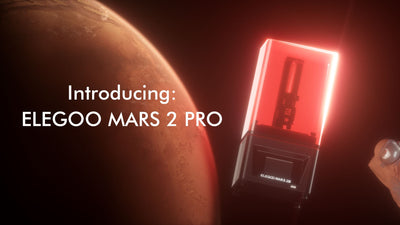 Enjoy your ride to ELEGOO Mars 2 Pro