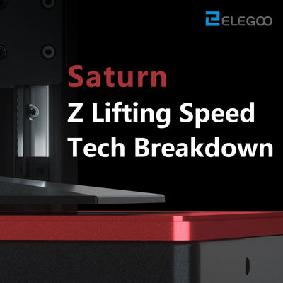 How Does The Z-Axis Lifting-Speed Mechanism Work on ELEGOO SATURN?