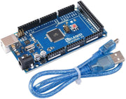 ELEGOO MEGA 2560 R3 Board with USB Cable Compatible with Arduino IDE Arduino STEM Kits elegoo-shop blue