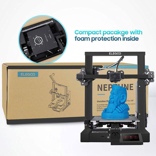 ELEGOO Neptune 2 FDM 3D Printer with Silient Motherboard 3D Printers elegoo-shop