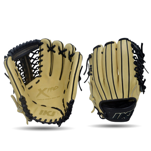 IKJ Xpro Series 11.75 INCH Double Welt Model INFIELD/PITCHER Baseball Glove in Straw and Black