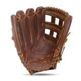 IKJ Core+ Series 12.75 INCH Single Welt Model OUTFIELD Baseball Glove in Mocha for LEFT-HANDED Thrower
