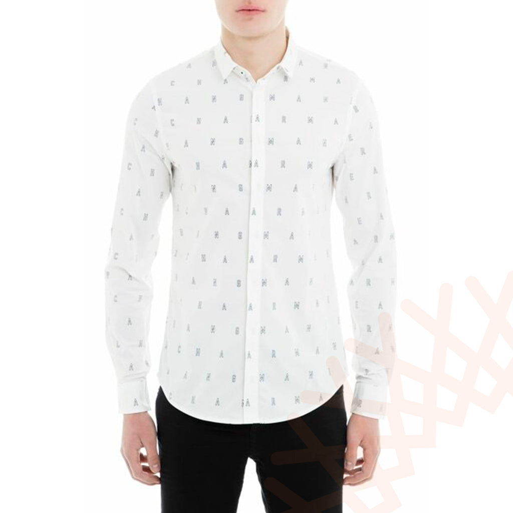 Armani Exchange Men's Shirt White Color