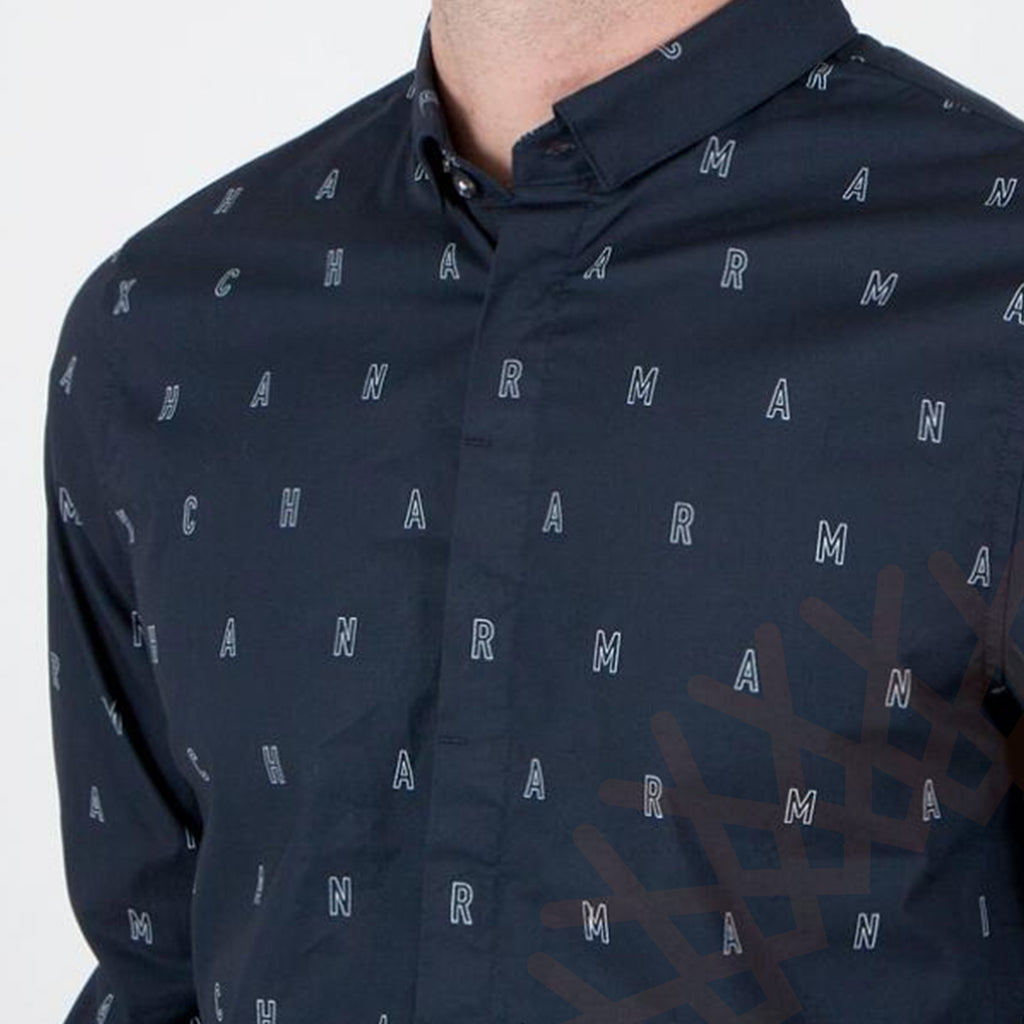 Armani Exchange Men's Shirt  Navy Color