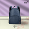 MONTBLANC Meisterstuck Lagre Soft Grain Backpack - Blue