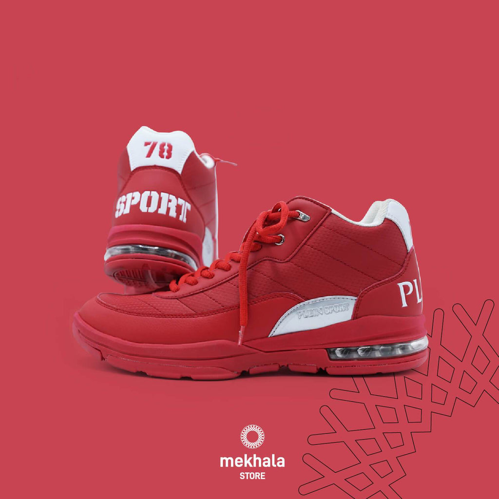 Malone high top sneakers Shoes Mekhala Store 39 Red