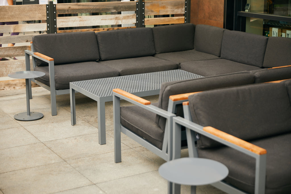 RAD Furniture Outdoor Sectional at Whole Foods in Porter Ranch