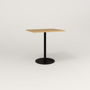Cafe Table —Rectangular Top, Weighted Base