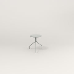 RAD Cafe Stool in grey powder coat.