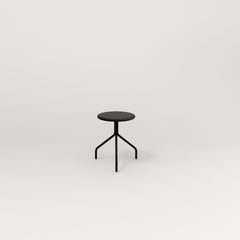 RAD Cafe Stool in black powder coat.