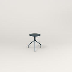 RAD Cafe Stool in navy powder coat.