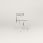 RAD Signature Cafe Chair in perforated steel and grey powder coat.