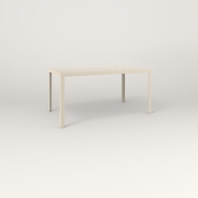 RAD Signature Table in perforated steel and off-white powder coat.