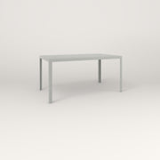 RAD Signature Table in perforated steel and grey powder coat.