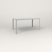 RAD Signature Table in slatted steel and grey powder coat.