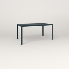 RAD Signature Table in perforated steel and navy powder coat.